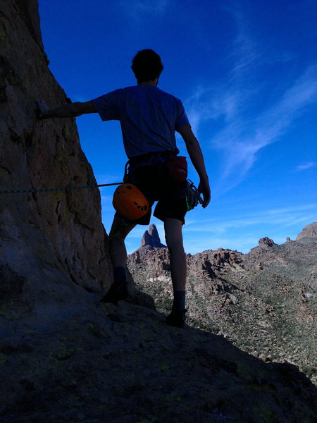 Superstition Wilderness: Barks Canyon: A Long Lead