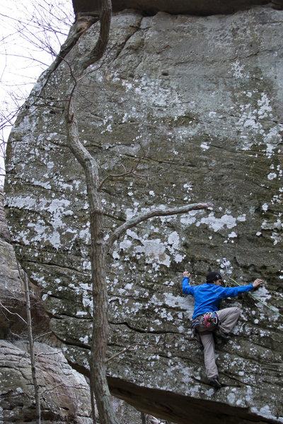 Rock Climbing Photo: Ryan on Three hour Tour.