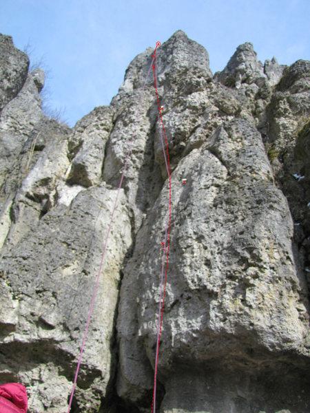 Rock Climbing Photo: Langschläferin (female late riser)