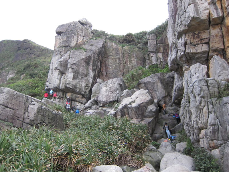 Rock Climbing Photo: hao duo ren