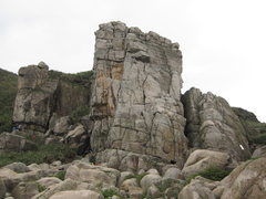 Rock Climbing Photo: Sea face