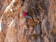 Rock Climbing Photo: Jugs are coming! Fa-Lufa (5.11)