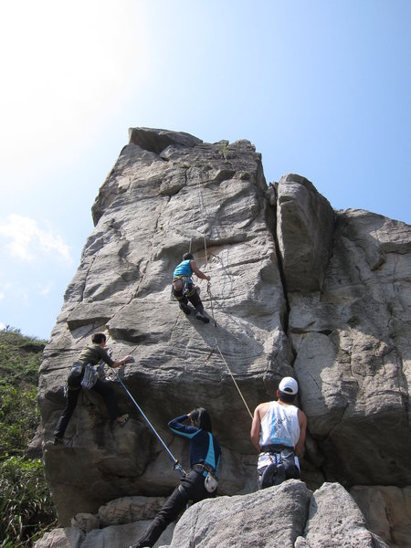 Rock Climbing Photo: The east face