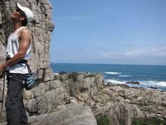 Rock Climbing Photo: 帥哥