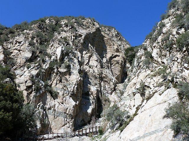 Rock Climbing Photo: Frustration Creek, San Bernardino Mountains