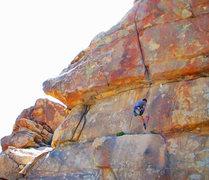 Rock Climbing Photo: No Shirt Needed