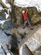 Rock Climbing Photo: Just below the crux overlap on Welcome To Frustrat...