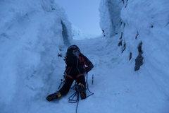 Rock Climbing Photo: 2012 May 12 Icy Pearly Gates