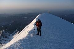 Rock Climbing Photo: 2012 May 12 Mount Hood Summit ridge