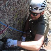 Rock Climbing Photo: Grunting helps