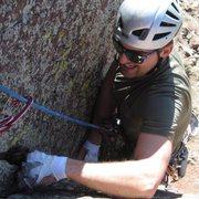 Rock Climbing Photo: Grunting helps