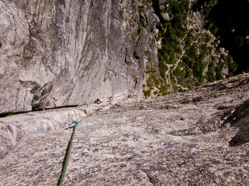 Rock Climbing Photo: Everyone takes a picture here.  Cause it's incredi...