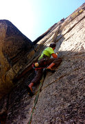 Rock Climbing Photo: Black September... 5.9 splitter
