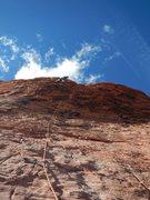 Rock Climbing Photo: Big Bad Wolf, pitch 3