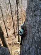 Rock Climbing Photo: Sydney Johnson, TP on Hickadelic Jazzgrass