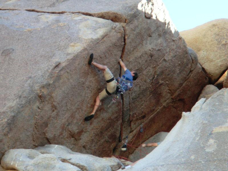 Rock Climbing Photo: fun jams, no feet!