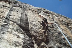 Rock Climbing Photo: Mike Arechiga on, Millions Of Dead Cops. 5.11b. Tr...