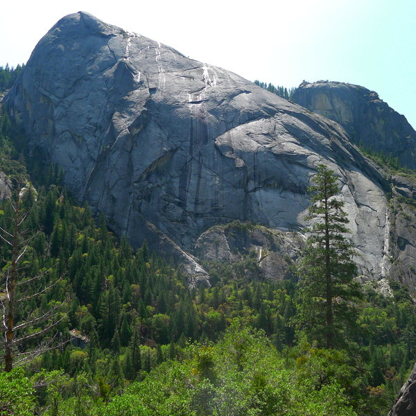 Rock Climbing Photo: Calaveras Dome.