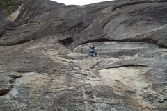 Rock Climbing Photo: Mike Arechiga on, Welcome To Chiquito Dome. 5.8. C...