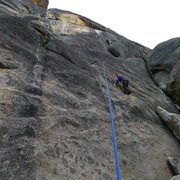 Rock Climbing Photo: Amy Wilkins on, Pokey Bear. 5.8.