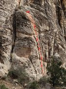 Rock Climbing Photo: Elizabeth Blue Moss 5.9