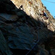 Rock Climbing Photo: Remember 911 first ascent.