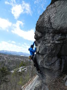 Rock Climbing Photo: Baldy on the upper arete