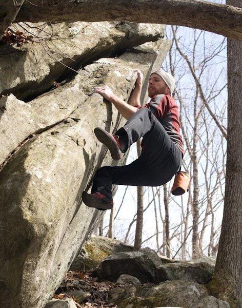 Rock Climbing Photo: Excellent boulder!