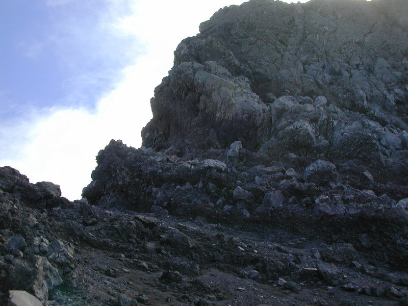 Rock Climbing Photo: The ledge