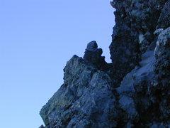 Rock Climbing Photo: The notch