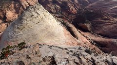 Rock Climbing Photo: This is shot from the top of the route and shows r...
