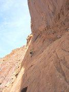 Rock Climbing Photo: Shingo on P2