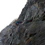 Rock Climbing Photo: The Cross