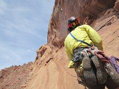 Rock Climbing Photo: Paul Higher on P3