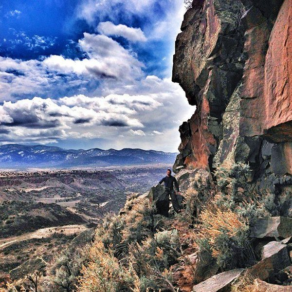 Rock Climbing Photo: The beautifully scenic Utopian Vistas