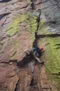 Rock Climbing Photo: Austin making it look easy