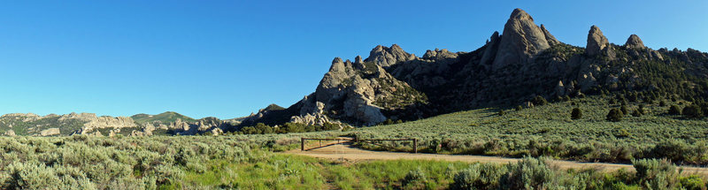 Rock Climbing Photo: The Precambrian Zone at the City of Rocks.