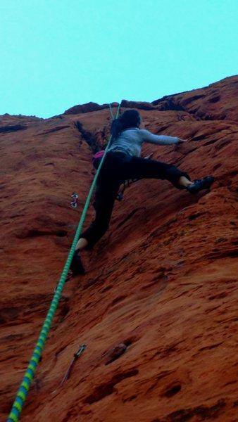 Rock Climbing Photo: Moderate Mecca