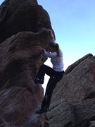 "Rock Climbing Photo: First Send of the Year- ""Tombstone Spire&quot..."