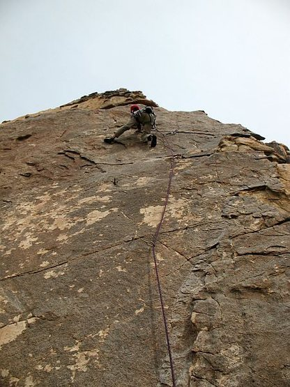 Rock Climbing Photo: Kona (5.10a), Joshua Tree NP