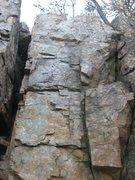Rock Climbing Photo: Rezerection-5.9+R