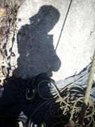 Rock Climbing Photo: 25 degrees and climbing