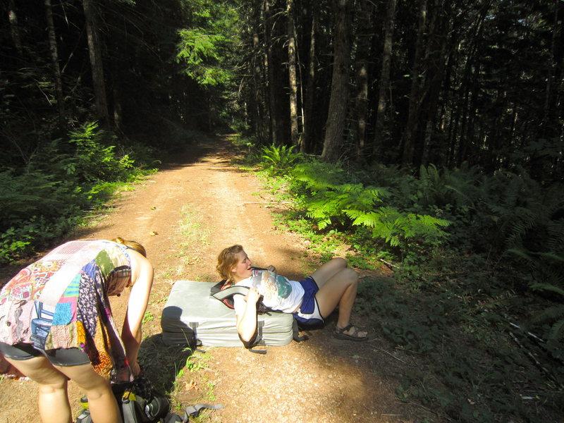 Rock Climbing Photo: Boulder pad ruckus.