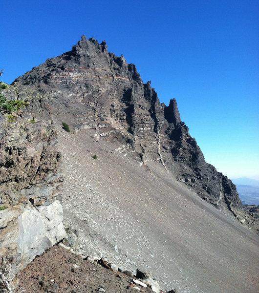 3 Finger Jack South Ridge Route