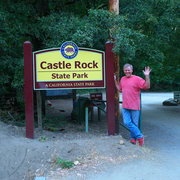 Rock Climbing Photo: Mike Arechiga at Castle Rock State Park.