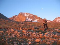 Rock Climbing Photo: Early morning sunrise.