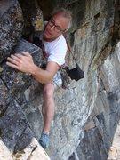 Rock Climbing Photo: Jake Evans pulling the Bone move.