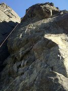 Rock Climbing Photo: No Such Thing as a Free Lunge.