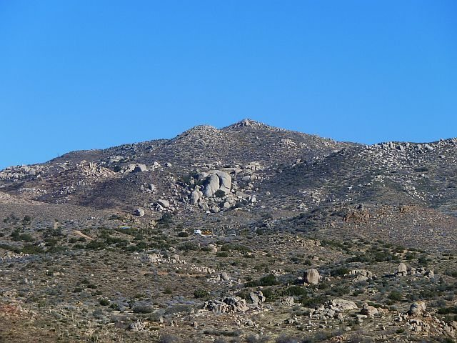 Butt Rock (aka Gnome Dome), San Bernardino Mountains