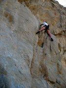 Rock Climbing Photo: The Plague (5.10b), Riverside Quarry